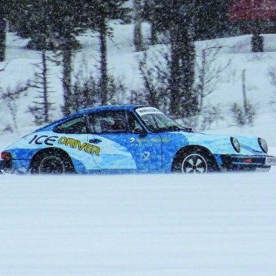Icey Porsche