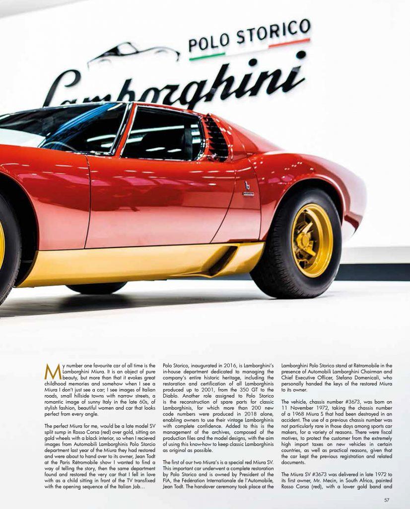 Paddock Life Lockdown issue-57 Lamborghini